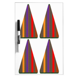 Secret CODE: PYRAMID Triangle Art: LOW PRICE GIFTS Dry-Erase Whiteboard