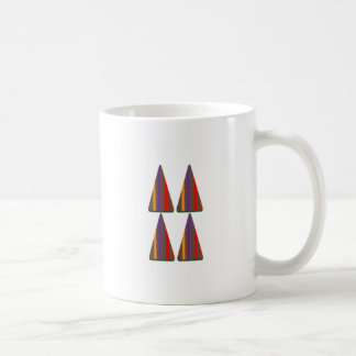Secret CODE: PYRAMID Triangle Art: LOW PRICE GIFTS Classic White Coffee Mug