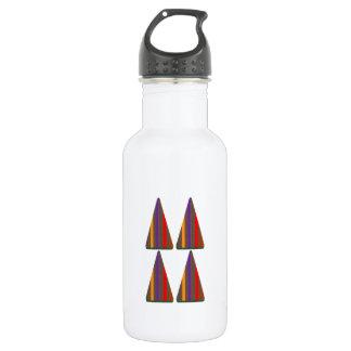 Secret CODE: PYRAMID Triangle Art: LOW PRICE Water Bottle
