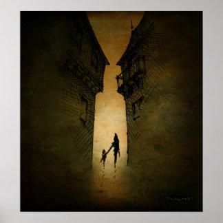 Secret Dark Alley Print