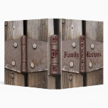 Secret Family Recipes Vinyl Binder