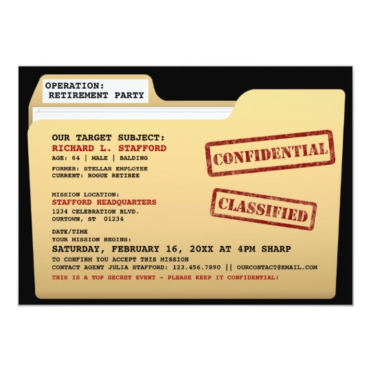 Funny Retirement Invitations  Announcements  Zazzle