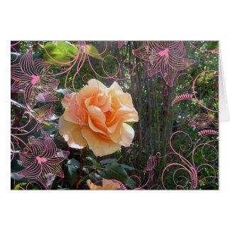 Secret Flower Garden Card