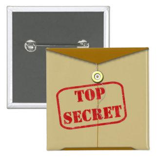 Secret Folder for Secret Cooks 2 Inch Square Button