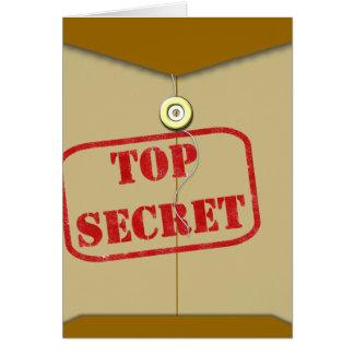 Secret Folder for Secret Cooks Greeting Card