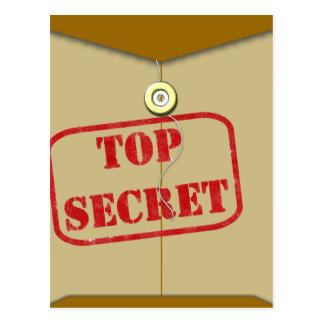Secret Folder for Secret Cooks Postcard