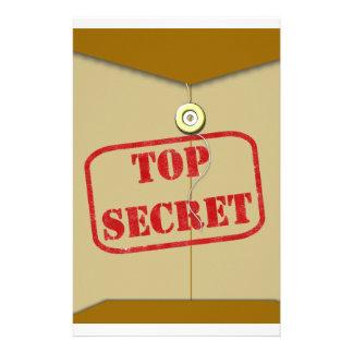 Secret Folder for Secret Cooks Stationery