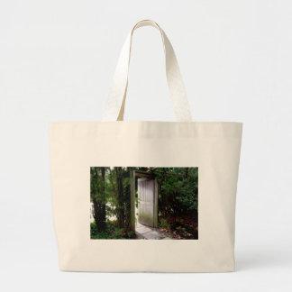 Secret Garden 1 Large Tote Bag