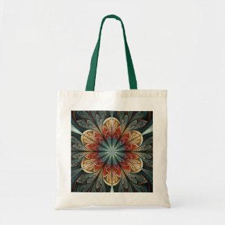 Secret Garden Abstract Fractal Art Tote Bag