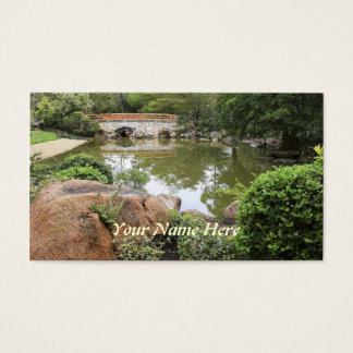 Secret Garden Business Card