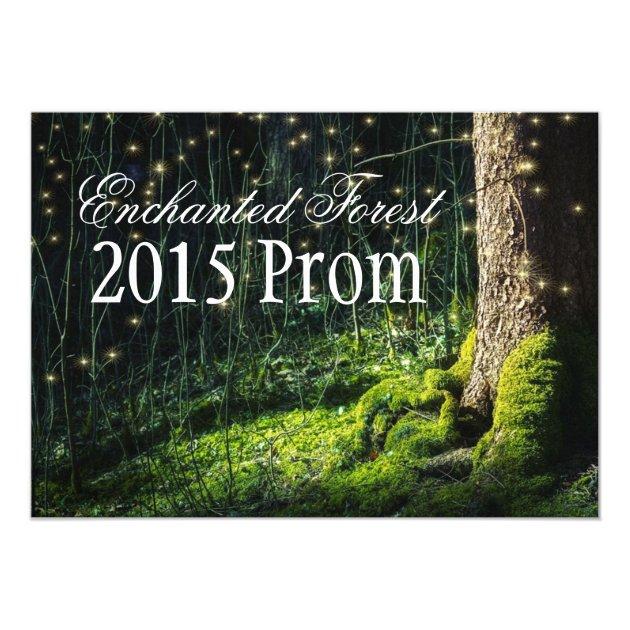 Secret Garden + Enchanted Forest Prom Invitations | Zazzle.com