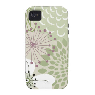 Secret Garden iPhone 4 Casemate Vibe-green Vibe iPhone 4 Cases
