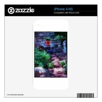 Secret Garden iPhone 4S Decal