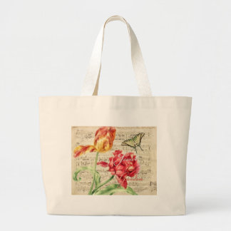 Secret Garden Large Tote Bag
