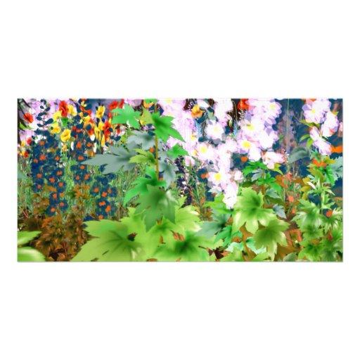 Secret Garden Photo Card