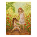 """""""Secret Garden"""" Postcard"""
