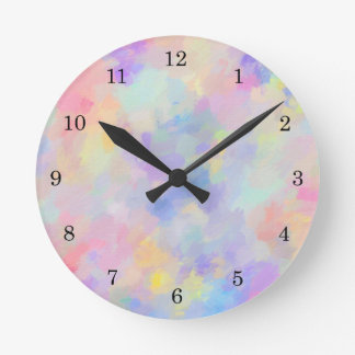 Secret Garden Round Clock