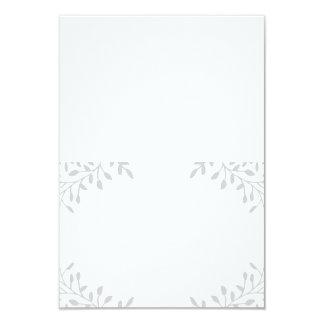 Secret Garden Wedding Folded Escort Cards