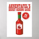 Secret GEDCOM Sauce Posters