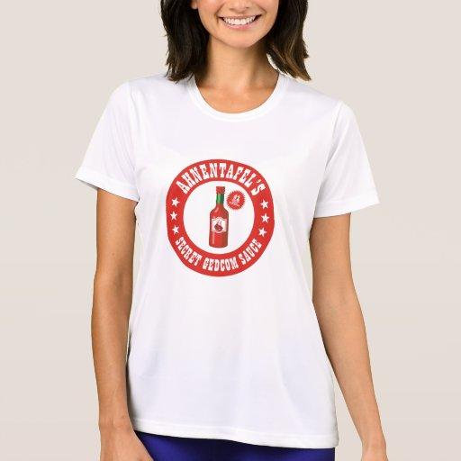 Secret GEDCOM Sauce T-shirt