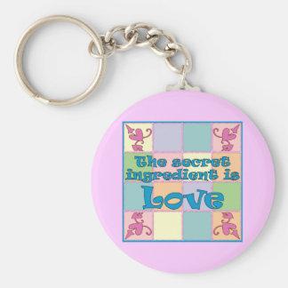 Secret Ingredient (Blue) Keychain