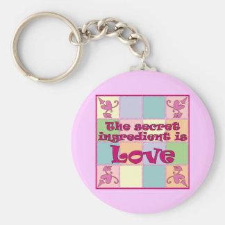 Secret Ingredient (Pink) Keychain