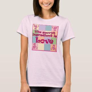 Secret Ingredient (Pink) Spaghetti Strap Shirt