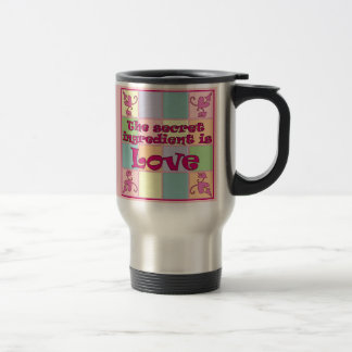 Secret Ingredient (Pink) Stainless Travel Mug
