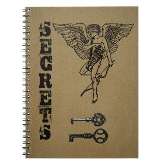 Secret journal note books