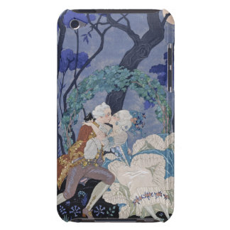 Secret Kiss, illustration for 'Fetes Galantes' by iPod Case-Mate Case