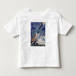 Secret Kiss, illustration for 'Fetes Galantes' by T-shirt