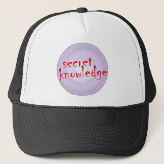 secret knowledge trucker hat