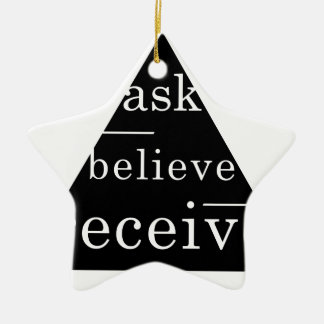 Secret law of attraction ornaments