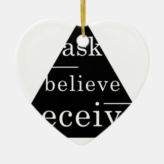Secret law of attraction christmas tree ornaments