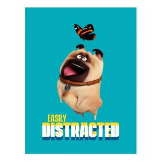 Secret Life of Pets - Mel | Easily Distracted Postcard
