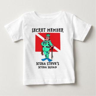 Secret Member SCUBA Steve Baby Baby T-Shirt