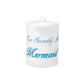 Secret Mermaid Teapot