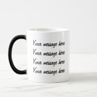 Secret Message  morphing mug  template