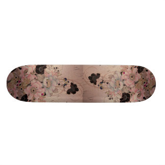 Secret message skate board