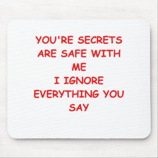 secret mouse pad
