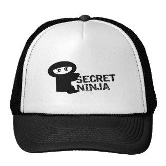 Secret ninja trucker hat