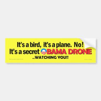 Secret Obama Drone Bumper sticker Car Bumper Sticker