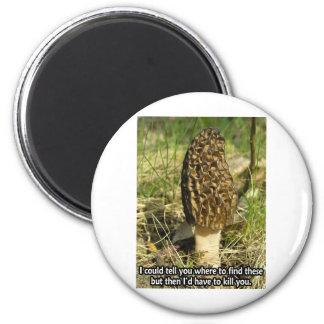 Secret of the Morel Hunter 2 Inch Round Magnet