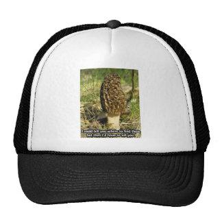 Secret of the Morel Hunter Trucker Hat