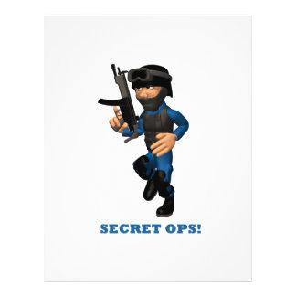 Secret Ops Flyers