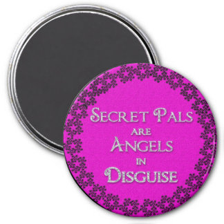 Secret Pal Magnet - Round