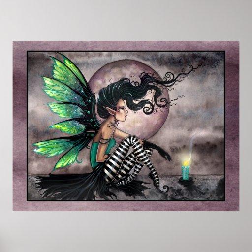Secret Place Gothic Fairy Poster Print
