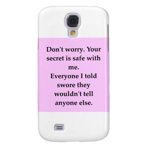 SECRET.png Samsung Galaxy S4 Covers