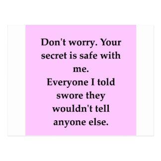 SECRET.png Postcard