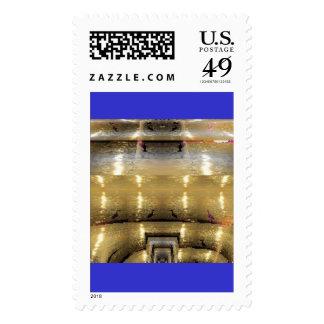 Secret Quantum Well Postage Stamp